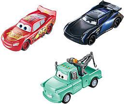 Игровой набор «Тачки» Машинки, меняющие цвет 3 шт. (Disney Pixar Cars Color Changers 3-Pack) от Mattel, фото 2