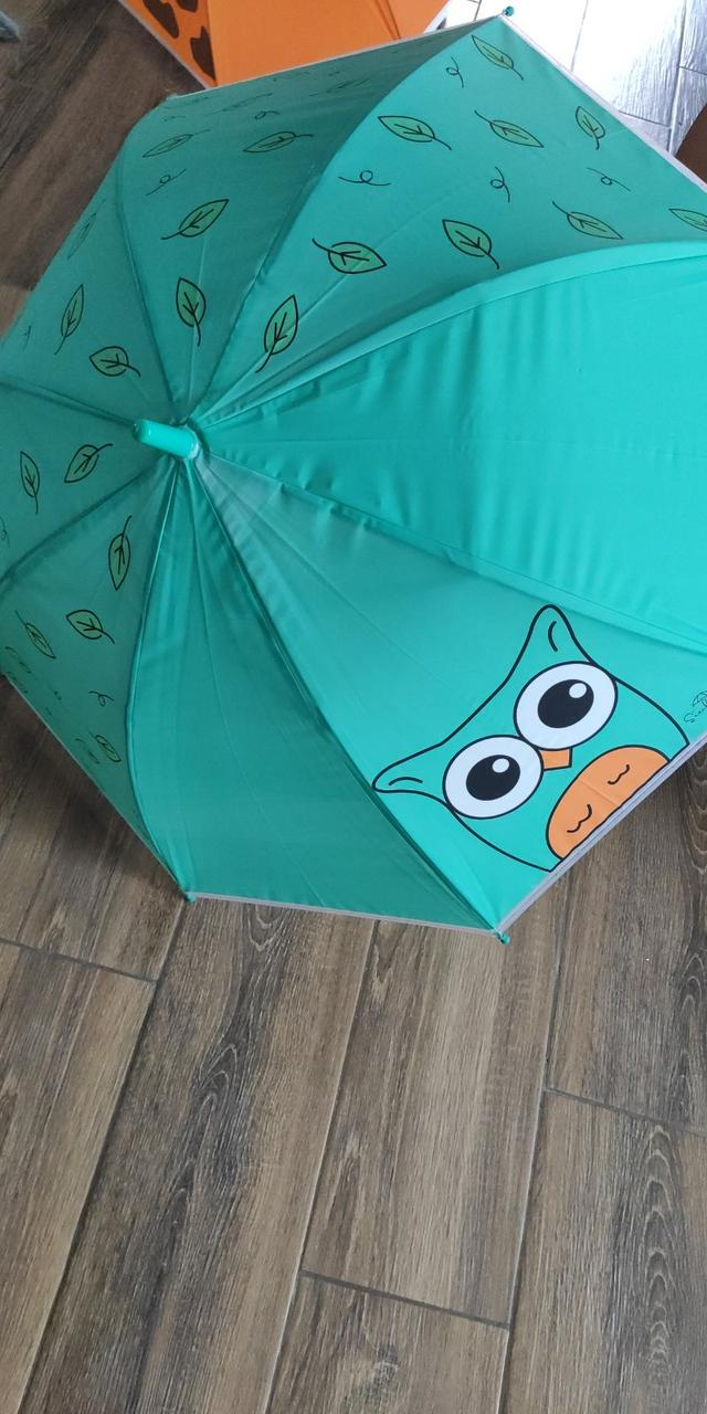 Зонт парасольку тростину напівавтомат для дітей купол - 82 см металеві Спиці - 8 шт