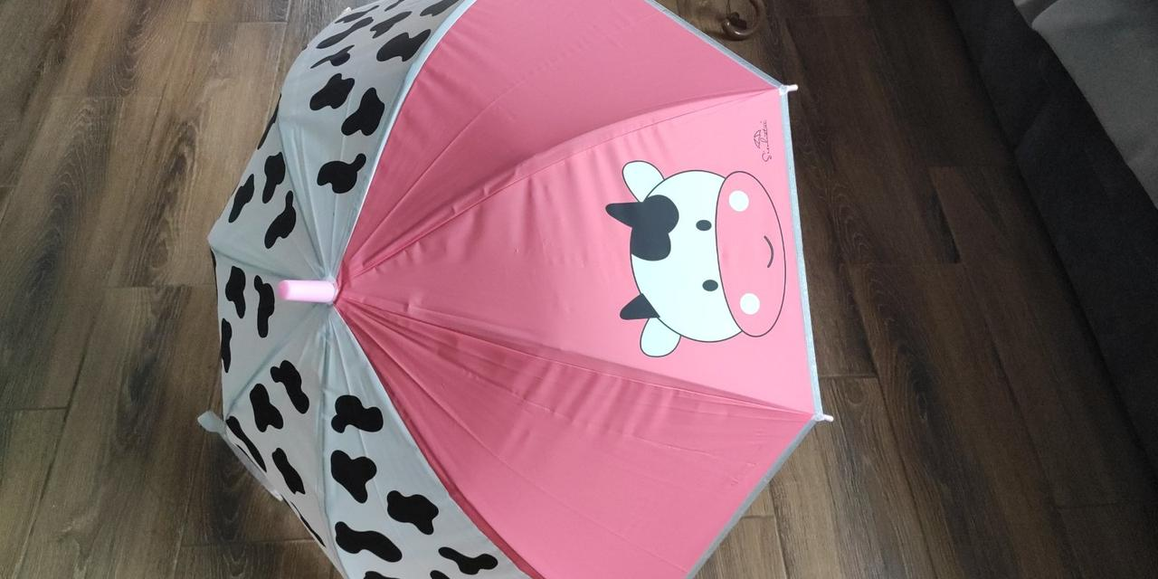Зонт парасольку тростину напівавтомат для дітей купол-82 см металеві Спиці - 8 шт
