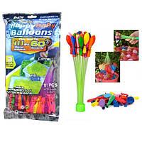 Водяные шарики бомбочки для водных битв Happy Baby Balloons 111 шариков