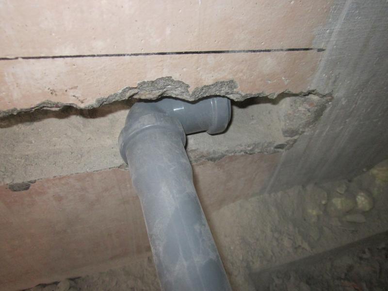 Штробление стен под трубы/бетон
