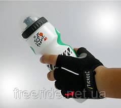 Велоперчатки беспалые Tiercel черные (L), фото 3