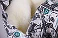 """Зимний конверт для новорожденных """"Мария""""  доллары, фото 3"""
