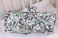 """Зимний конверт для новорожденных """"Мария""""  доллары, фото 4"""
