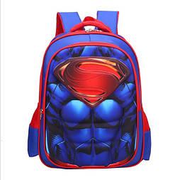 Школьный рюкзак Супермен для мальчика в первый 1 класс