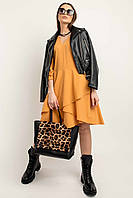 Утонченное нежное платье Алия длиной выше колена 42-52 размер разные цвета