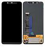 Дисплей (экран) для Xiaomi Mi 8 + тачскрин, черный, OLED, копия хорошего качества