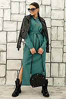Лаконичное и стильное платье-рубашка Олли свободного силуэта 42-56 размер разные цвета