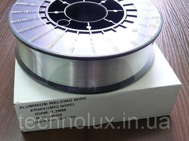 Проволока сварочная ER4043 (MIG WIRE) 1.2мм. 2кг
