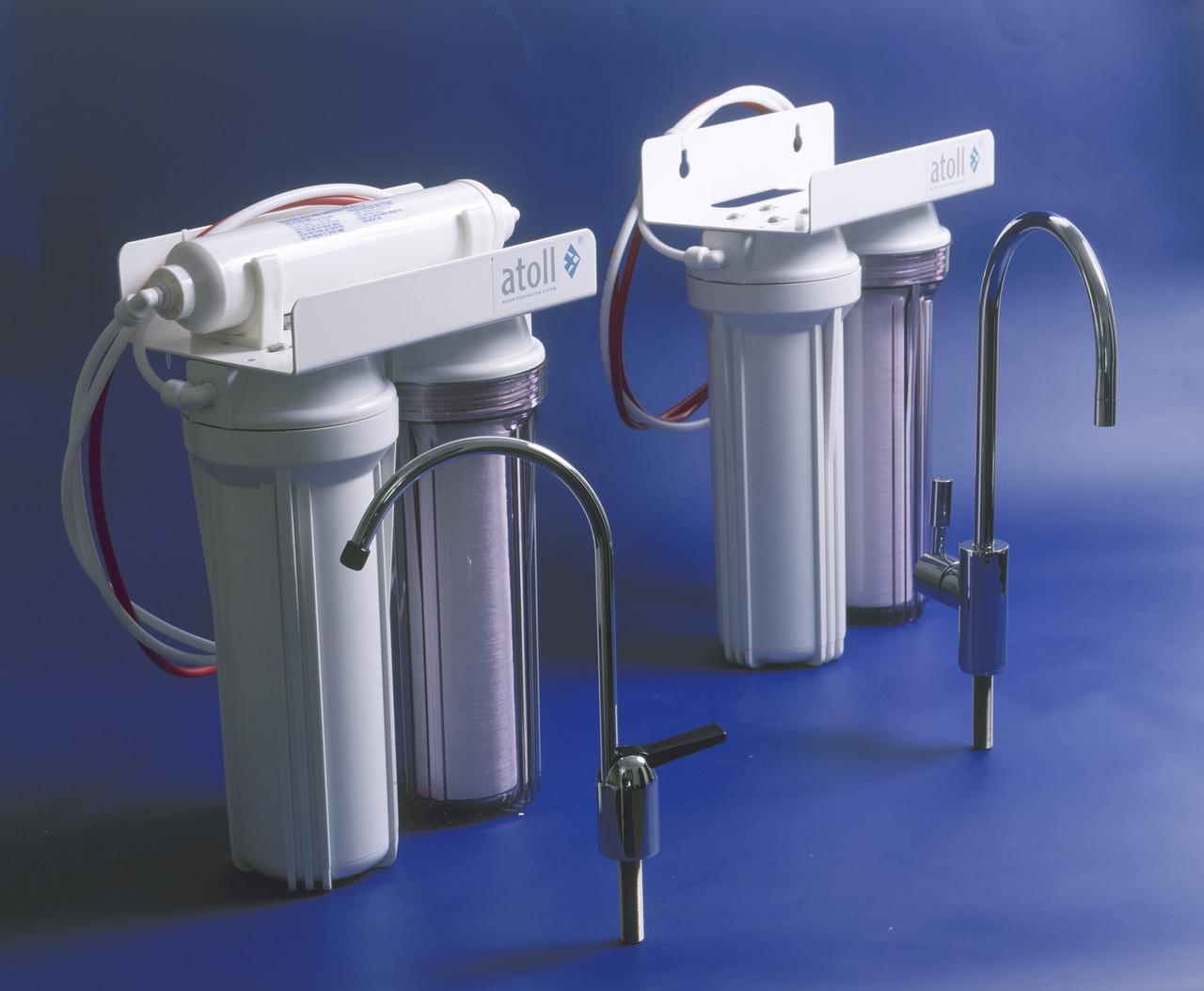 Установка фильтра очистки воды (легкая система)