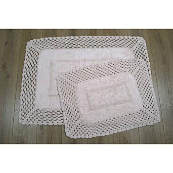 Набор ковриков Irya - Lizz pembe розовый 70*100+45*65 (svt-2000022213936)