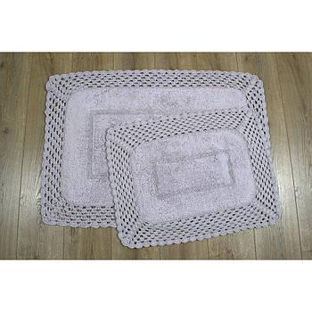 Набор ковриков Irya - Lizz lila лиловый 70*100+45*65 (svt-2000022213950)