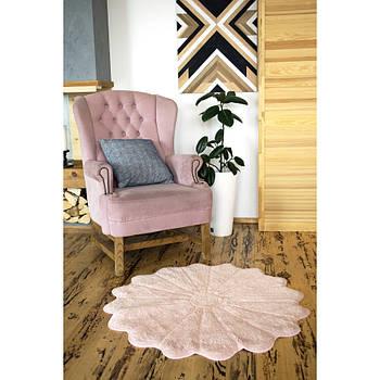 Килимок Irya - Daisy pembe рожевий 100*100 (svt-2000022231893)