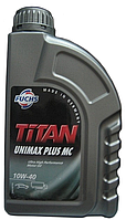 Полусинтетическое моторное масло Titan Unimax Plus MC 10w-40 1л.