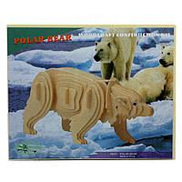 """Sea-Land"" Полярный медведь M023 4 пластины"