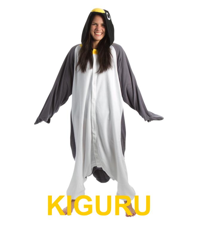 Костюм пингвина кигуруми серый с белым - KIGURU в Киеве 125b45ba136c2