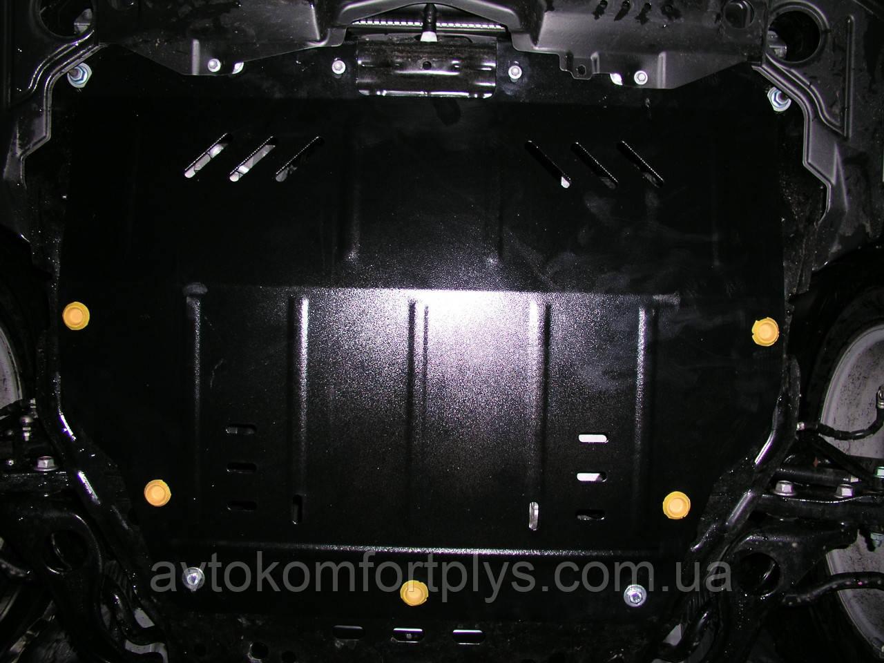 Металлическая (стальная) защита двигателя (картера) Mazda 6 (2008-2012) (V-1,8; 2,0; 2,5)