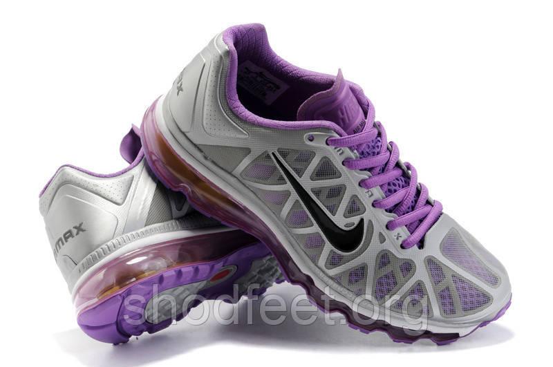 Женские кроссовки Nike Air Max 2011 Grey/Violet