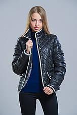 Женская весенняя короткая куртка на синтепоне, фото 3