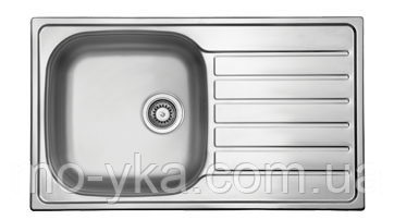 Кухонная мойка из нержавеющей стали  HYР 860.500 GT 8K