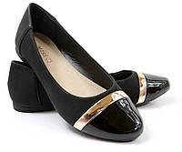 Черные туфли очень удобные