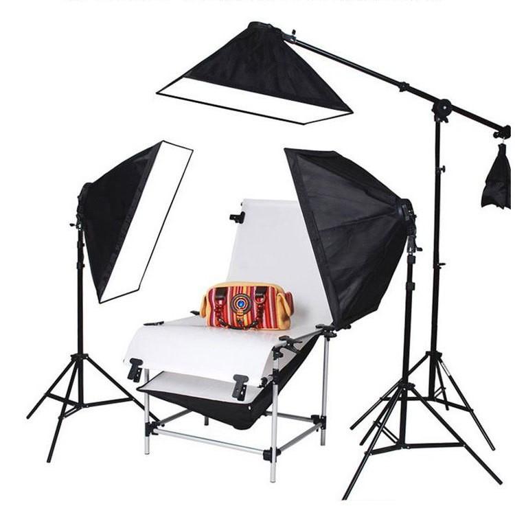 Комплект для предметной съемки (Стол для предметной съемки MASSA 100/60 / софтбоксы)