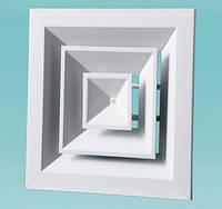 Диффузор потолочный ДП (квадратный)