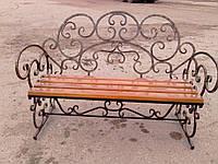 Кованная скамейка