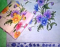 Банные велюровые полотенца  0926