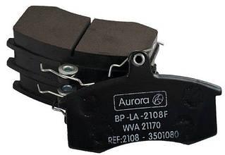 Колодка передняя дискового тормоза ВАЗ 2108 2109 21099 Калина 1117 1118 1119  2110 2112  2115 Aurora