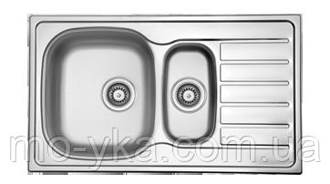 Кухонная мойка из нержавеющей стали  HYР 860.500.15 GT 8K