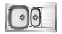 Кухонная мойка из нержавеющей стали  HYР 860.500.15 GT 8K, фото 1