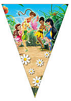 "Флажки вымпелы ""Tinker Bell"". Длина: 2,5 метра."