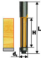 Фреза кромочная прямая ф12.7х25, хв.12мм (арт.10652)