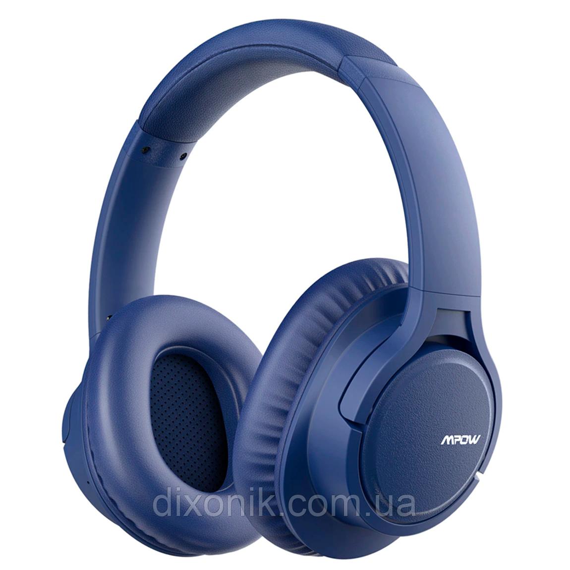 Мощные беспроводные наушники Mpow H7 blue наушники Bluetooth