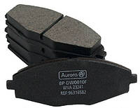 Колодка передняя дискового тормоза Daewoo Lanos Sens Деу Део Ланос Сенc R13 Аврора 96273708