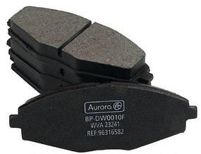 Колодка передняя дискового тормоза Daewoo Lanos Sens Деу Део Ланос Сенc R13 Aurora