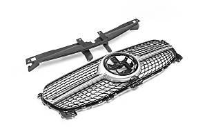 Mercedes GLE W167 Передняя решетка (Diamond Silver)