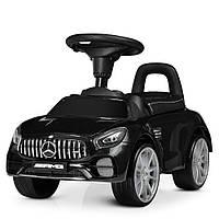 Детская каталка-толокар Bambi Mercedes-AMG M 4159 L-2 кожаное сиденье черная**, фото 1