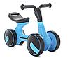 Беговел дитячий PROFI KIDS M 5449-3 4 колеса 7 дюймів блакитний**