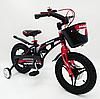 Детский двухколесный велосипед MARS-14 колеса 14 дюймов магнезиевая рама черный