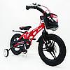 Детский двухколесный велосипед MARS-14 колеса 14 дюймов магнезиевая рама красный