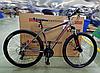 """Велосипед спортивный горный Crosser Grim 26 колеса 26 дюймов рама алюминий 19"""" серый"""