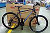 """Велосипед спортивный горный Crosser Grim 26 колеса 26 дюймов рама алюминий 19"""" черный"""
