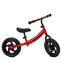 Беговел велобіг від толокар дитячий PROFI KIDS дитячий колеса 12 дюймів M 5457-1 червоний**