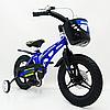 Велосипед двухколесный детский MARS-14 спицы дисковый тормоз колеса 14 дюймов синий