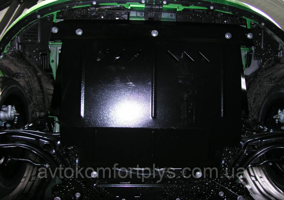 Металева (сталева) захист двигуна (картера) Mazda 2 (2007-) (V-1,2; 1,4; 1,6)
