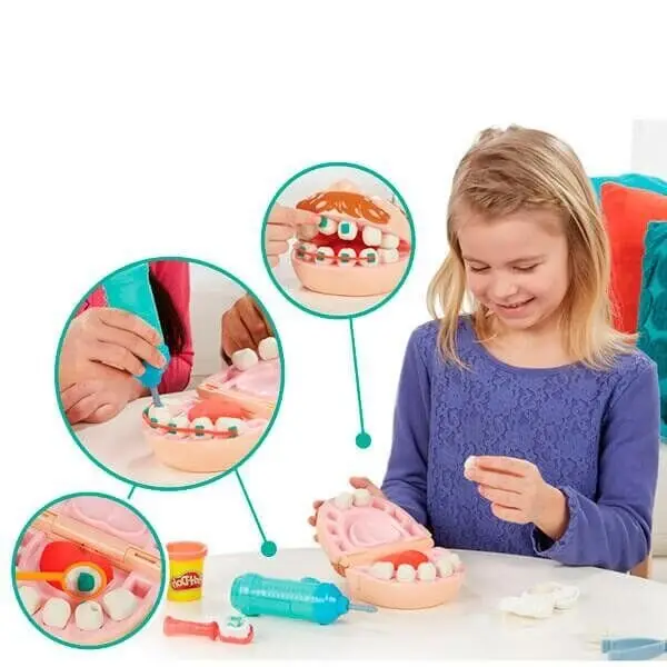 Стоматолог пластилин Мистер Зубастик игровой набор развивающий для детей