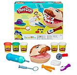 Стоматолог пластилин Мистер Зубастик игровой набор развивающий для детей, фото 4