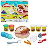 Стоматолог пластилин Мистер Зубастик игровой набор развивающий для детей, фото 6
